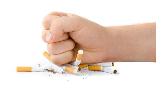 Os atores deixaram de fumar